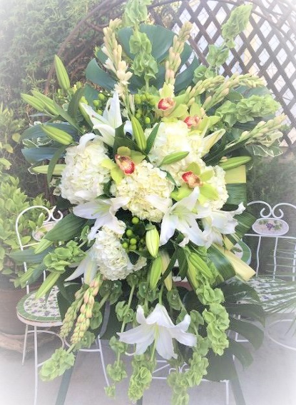 Funeral Easel Floral Spray